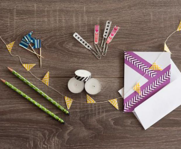 3 Easy Washi Tape Crafts